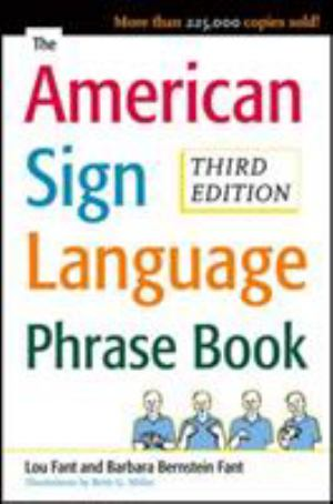 American Sign Language Phrase Book (SKU 1034913763)