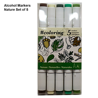 Alcohol Marker Nature Set