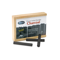 Charcoal Pressed Woodbox 10Ct