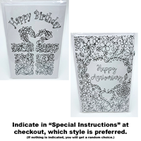 COLOR IN GREETING CARDS ASST