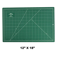 "Cutting Mat Hobby Kit 12"" x 18"" GREEN"