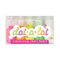 Dot a Lot Neon Bright Paint