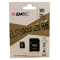 Emtech 16GB Micro SD w/ Adapter