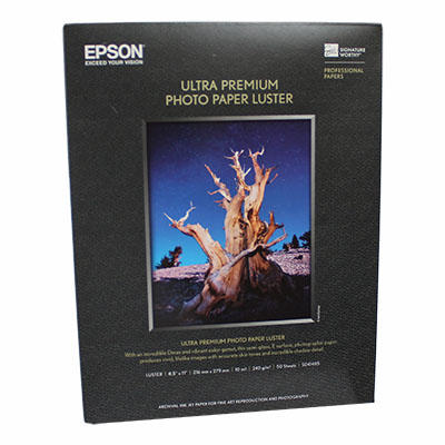Epson Photo Paper Luster (SKU 1031730348)