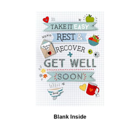 Get Well Take It Easy Card