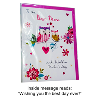 Greeting Card Mothers Day - Best Mom