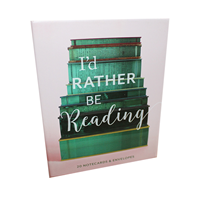 I'd Rather be Reading - Notecards