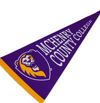 McHenry County College Pennant