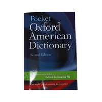 Oxford American Pocket Dictionary