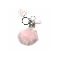 Posh Plush Puff Keychain